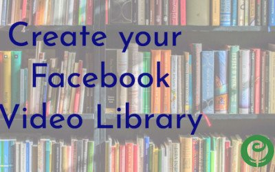 Facebook Business Page Video Library