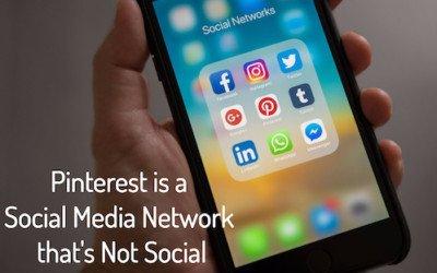 Pinterest is a Social Media Network that's No Longer Social
