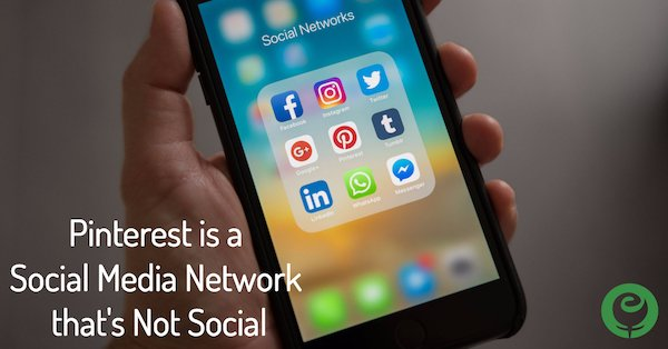 Pinterest Social Media Network Not Social