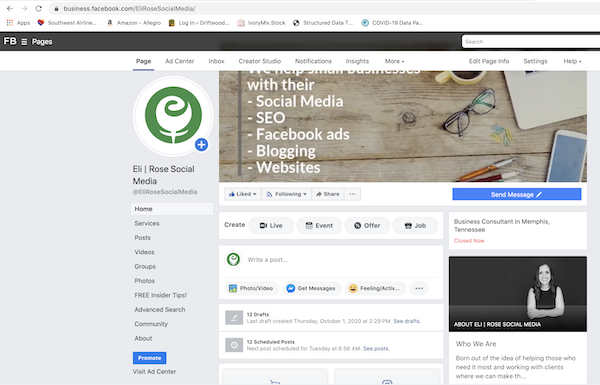 Our Story returns to Facebook Business Pages October 2020