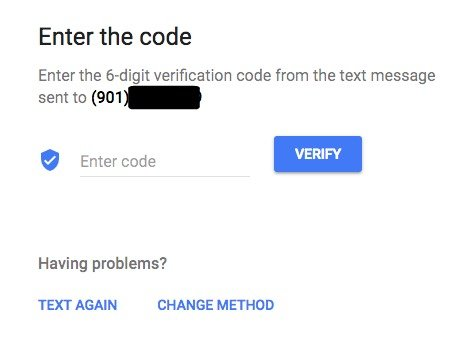 Enter 6 Digit Google My Business Verification Code
