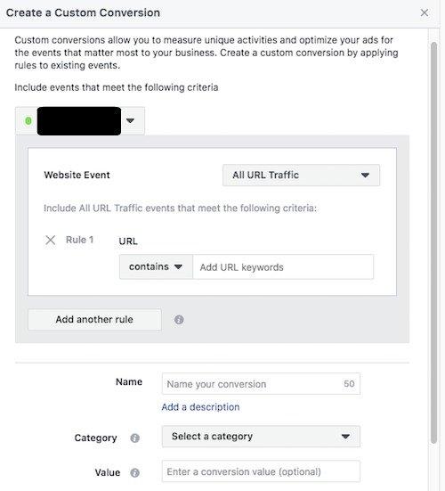 Create a Custom Conversion