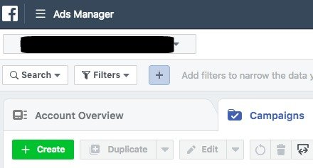 Start creating a Facebook Custom Conversion
