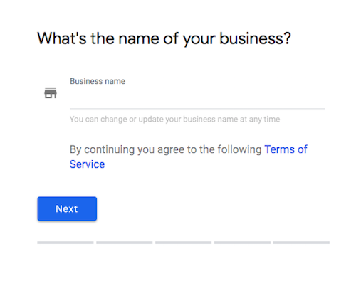 how to search for a business name