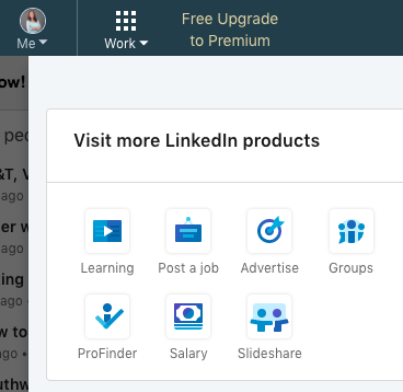 LinkedIn Advertise