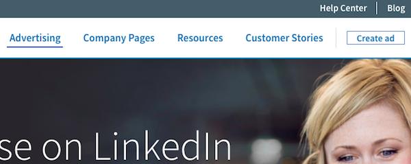 LinkedIn Create Ad