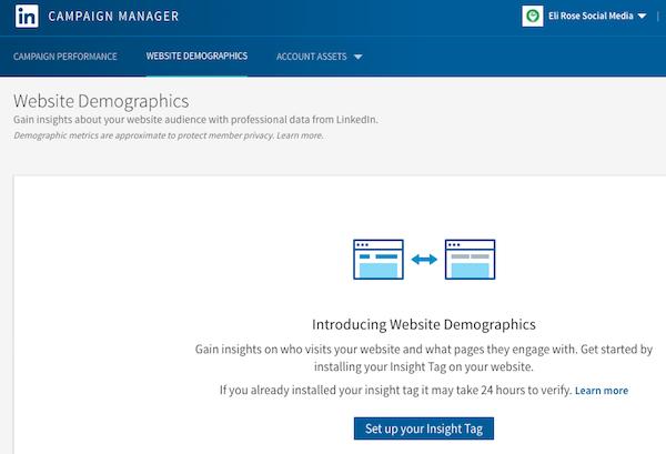 LinkedIn Insight Tag Setup