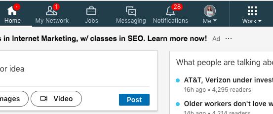 LinkedIn Work