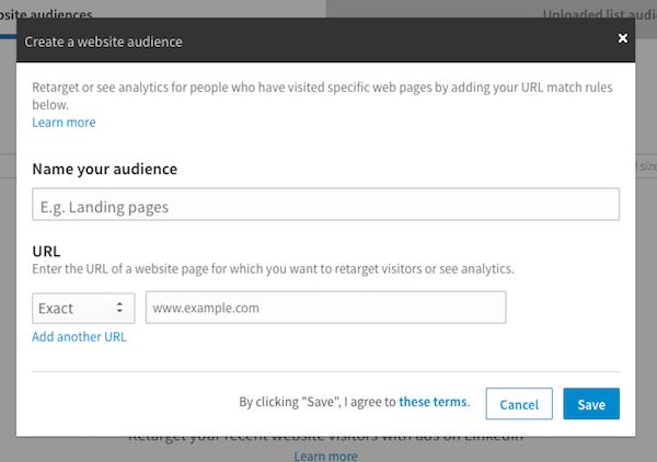 Name LinkedIn Custom Audience