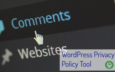 WordPress Privacy Policy Tool