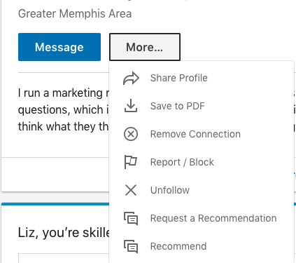 Give LinkedIn Recommendation