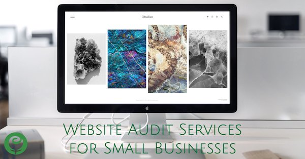 Website audit services for small business