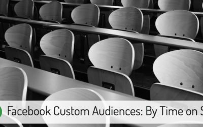 Facebook Custom Audiences: By Time on Site