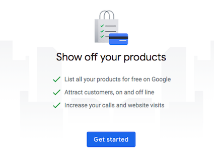 Get started adding products to your Google My Business listing