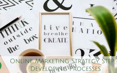 Online Marketing Strategy, Step 4: Developing Processes