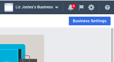 Facebook Business Settings