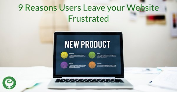 9 Reasons Users Leave your Website Frustrated
