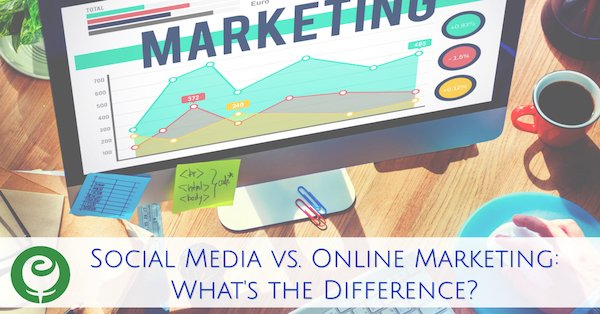 Differences between Social Media and Online Marketing
