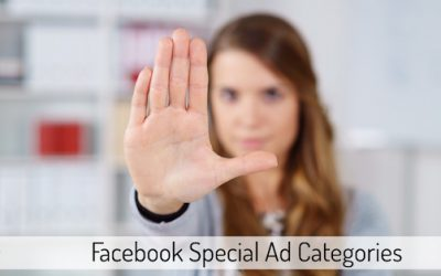 Facebook Special Ad Categories