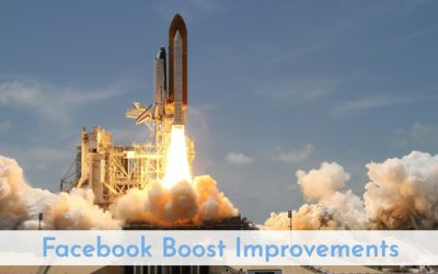 Facebook Boost Improvements