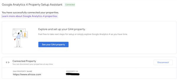 Google Analytics GA4 Property Settings