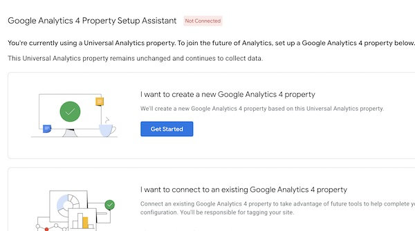 Google Analytics GA4 Set Up Wizard